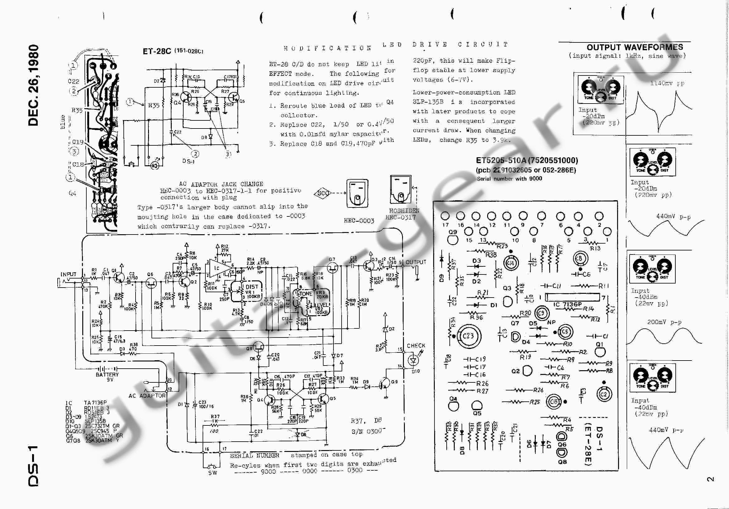 Boss DS-1 — Guitar Gear on boss lm-2 schematic, boss ce-3 schematic, boss od-2 schematic, boss ds 1 modification, boss ds 1 keeley mod, boss sd1 schematic, boss oc-2 schematic, boss sp1, boss ge-7 schematic, boss dm-2 schematic, boss overdrive schematic, boss hm-2 schematic, boss od-1 mod instruction, boss fs 6 footswitch schematic, boss metal zone, boss ph-1 schematic, boss ls 2 schematic, boss mt 2 schematic, boss blues driver schematic, boss ce-2 schematic,